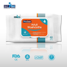 OEM & FDA CE body cleaning wet wipes