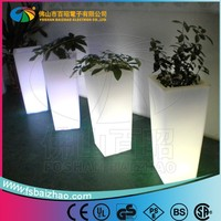 cheap people like garden floor set ,wholesale plastic plant pots/led flower pot design