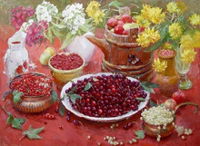 Talented artist handmade impressionist fruit paintings for htoel decoration