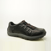 black upper different lace style lightweight unique men leather athletic shoes
