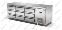 fan cooling drawer refrigerator(6 drawer)