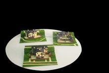 famouse designer modern house plans for villa building model