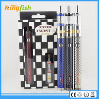 New product 2015 evod twist 3 alter ego big battery e cigarette of 5000mah