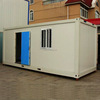 pp honeycomb sandwich panel underground prebuilt container house