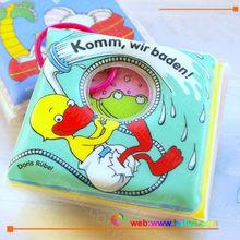 waterproof baby bath book