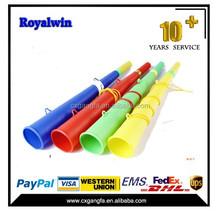 custom plastic vuvuzela horn