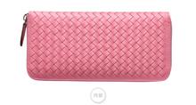 Multifunctional sheepskin weave women wallet,handmade weave women purse,sheepskin leather women wallet