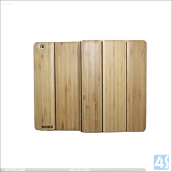 factory price for ipad 2 3 4 bamboo wood /for ipad 2 3 4 bamboo case
