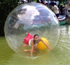 clear or colorful practical toy enjoyable water walking ball aqua fun inflatable water polo ball
