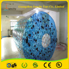 Glamour 1.0mm PVC/TPU,2-3m length inflatable water roller, durable water crystal ball