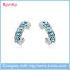 Kovtia branded earrings white gold earrings crystal girls dresses stud earring