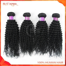 Unprocessed Virgin Brazilian Hair Bundles Natural Color Brazilian Kinky Curl Hair Top Quality Best Selling Alibaba Brazilian Hai