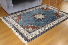 4x6 Ft High Quality 100% Silk Handmade Silk Carpet Art