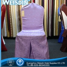 WEISDIN good quality cheap removable dining chair covers chair sashes