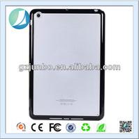 Transparent hard back cover TPU bumper case for ipad 2 3 4