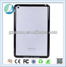 Transparent hard back cover TPU bumper case for ipad 2 3 4