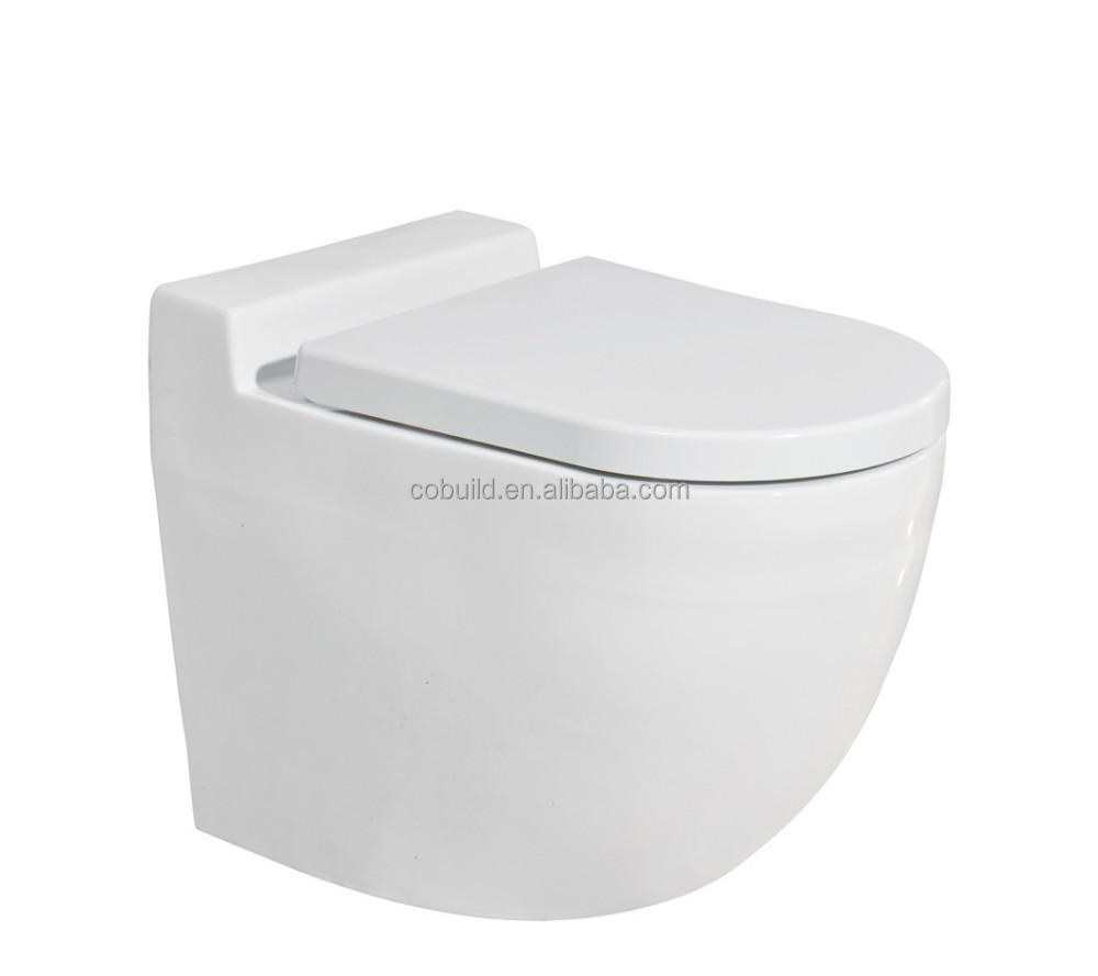 Europese standaard vierkante badkamer muur hing wc muur hung wc pot cb 8108 toiletten product - Muur wc ...