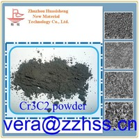 Chromium carbide powder Cr3C2 0.8-1.5 um used as additives in ultra fine alloy and grain growth inhibitor, high purity Cr3C2