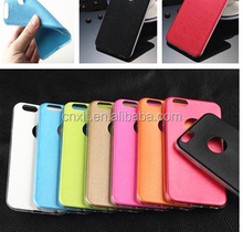 Ultra thin slim PU leather soft case cover for iphone 5 5s
