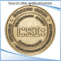 Personalized Antique Challenge novelty coin