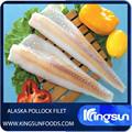 caliente la venta de pescado congelado filete de abadejo de alaska theragra chalcogramma
