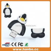 funny standing 3d penguin shape usb flash drive