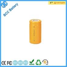 nimh/nicd sub c 1.2v battery