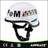 Police using military motorcycle helmet