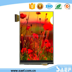 3.5 lcd touch screen module portrait type HVGA 320x480 dots with resistance touch panel & MCU interface TFT LCM