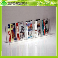 DDE-B105 ISO9001 Chinese Factory Produce SGS Test Cheap Acrylic Books Display Stand