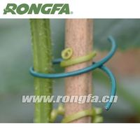 tomato support plastic twist tie wire