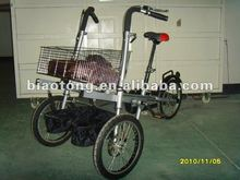 Folding bike child tricycle pedal jeep car