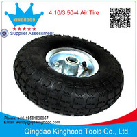 Kinghood 10-in Pneumatic Air Wheel for Dolly Cart