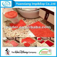 Whosale Alibaba Anti-slip Latex Backed Washable Bathroom Mats