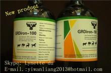 Aumento di peso 100ml ferro destrano iniezione complesso ferro destrano più vitamine iniezione 10% per veterinario dalla fabbrica gmp