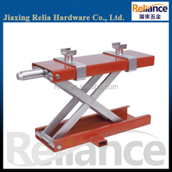 Motorcycle Lift Table, Hydraulic Single Scissor Stand For Dirt Bike Repairing