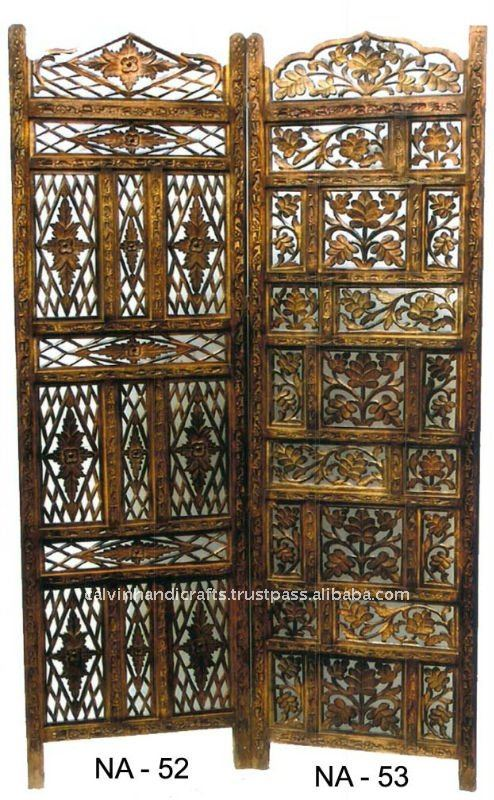 Decorative screens room divider carved partitions