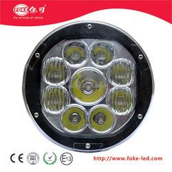 high power 90w round led driving light ,led off road light for ATV,UTV,TRUCK ,Bus ,off road use