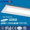 120x30 led panel light, 40w led ceiling panel light,101lm/w office led ceiling light
