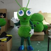 Hola green ant costume/mascot head