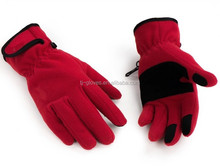 wholesale winter sport soft and thin touch screen gloves