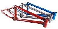 Clip3 Cromoly 4130 Butted BMX Trans Orange Frame finger bmx bike toys