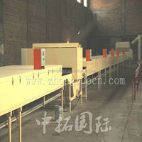 colorful stone chip coated steel roof tiles cold roll forming machine