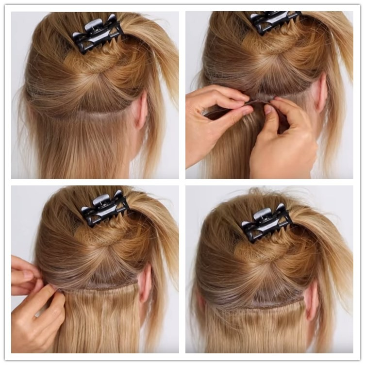 2016 Aliexpress Uk 160g Clips In Great Lengths Hair Extensions Sew