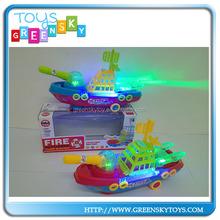 popular flash electronic toy ship model