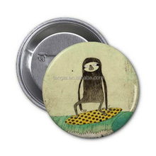 cartoon pin button badge customized/monster pin button badge personalized BT 2014