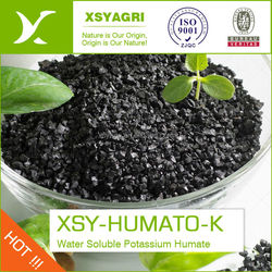 Potassium Humate Type and Quick Release Type 100% water soluble SUPER potassium humate