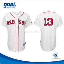 Custom design new pattern baseball jerseys supplying