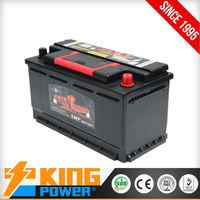 High CCA car batteries 58827MF(DIN88MF) King Power