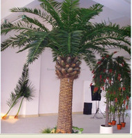 Outdoor large artificial palm tree sale,plastic palm tree wholesale